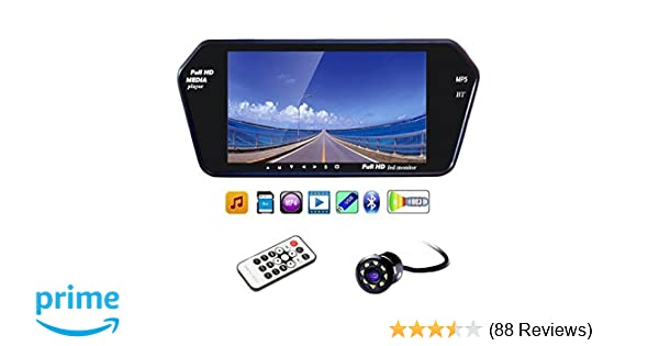 Generic 7 Inch Full HD Touch Bluetooth LED Screen and 8 Inch LED Reverse  Camera for Maruti Suzuki Swift New
