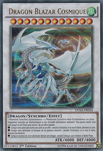 """Carte Yu-Gi-Oh! """"Dragon Blazar Cosmique"""" DUSA-FR034 - VF/ULTRA RARE"""