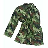 ORIGINAL Serbische Armee Feldparka Jacke mit Futter Army Flecktarn Größe M