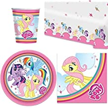 My Little Pony Brillo Fiesta Vajilla Pack
