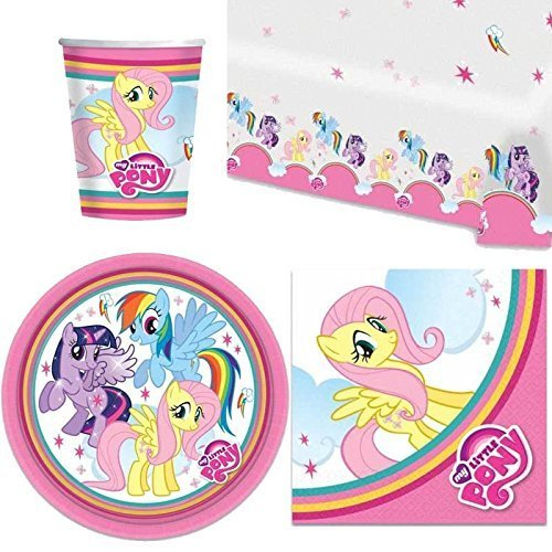 My Little Pony Brillant Fête Vaisselle Paquet