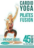 CARDIO - YOGA & PILATES FUSION - 45 min Full Body Workout - Total Fitness & Weight Loss [OV]