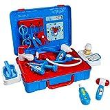 Maletin Doctora Juguetes Kit Enfermera Juegos de Médicos para Niños 3+ Años(13 pcs)