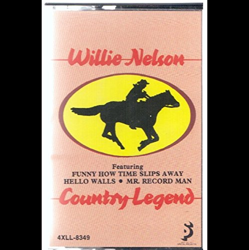 Willie Nelson: Country Legend Kassette VG++ USA Liberty 4XLL-8349