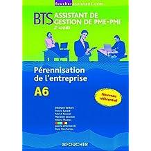 A6 Pérennisation de l'entreprise 2e année BTS