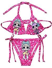 Unicorn - Bikini de dos piezas colorido para niñas
