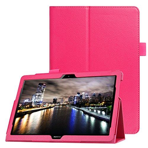 Tablet Schutz für Huawei MediaPad T3 10 Stand Case 9.6 Zoll aufstellbar Kunstleder + GRATIS Stylus Touch Pen T3 Stylus