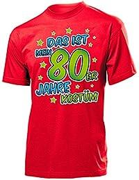 Karnevalskostüm - Faschingskostüm - Halloween - Das ist mein 80er Jahre kostüm T-Shirt Herren S-XXL - Deluxe