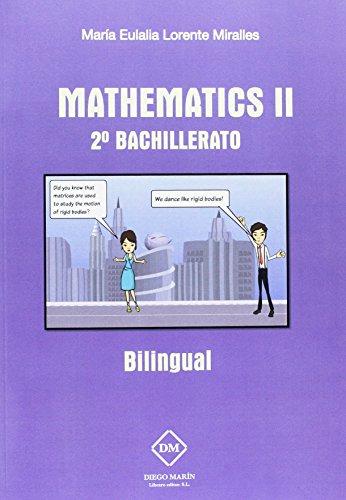 MATHEMATICS II 2º BACHILLERATO - 9788416908523 por MARIA EULALIA LORENTE MIRALLES