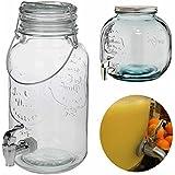 LS Design Getränkespender Zapfsäule Dispenser Zapfhahn Getränkeportionierer Bar Butler 4 Liter