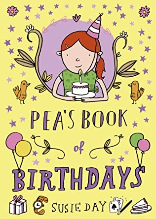 book cover of Pea\'s Book of Birthdays