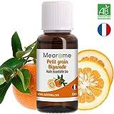 Huile Essentielle de PETIT GRAIN BIGARADE BIO - 30 ml 100% Pure et Naturelle, HEBBD,...