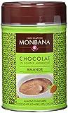 Monbana Schokoladenpulver Mandel 250g Dose (mind. 32% Kakao), 1er Pack (1 x 250 g)