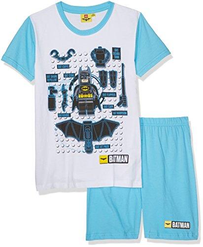 LEGO BATMAN 79214, Conjunto Ropa Deportiva para Niñas, Blanc (Blanc), 8 Años