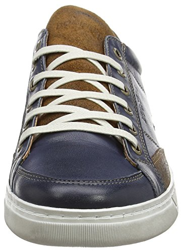 Dockers Par Gerli 38ho001-102, Sneaker Basse Uomo Blu (blau (marine 660))