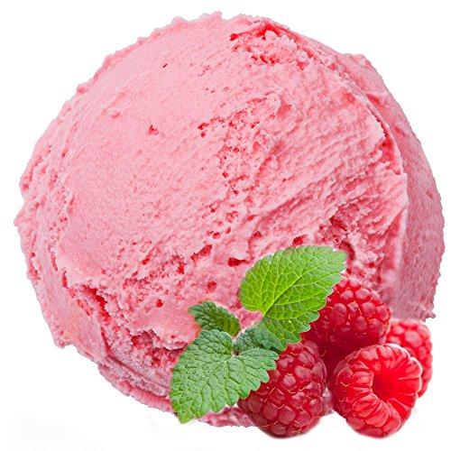 Himbeer Geschmack 1 Kg Gino Gelati Eispulver für Speiseeis Softeispulver Speiseeispulver