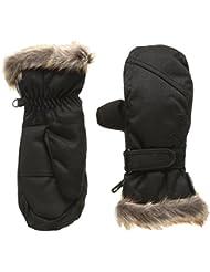 Ziener Led Mitten Girls Glove Junior - Guantes de esquí para niña, color Negro, talla S