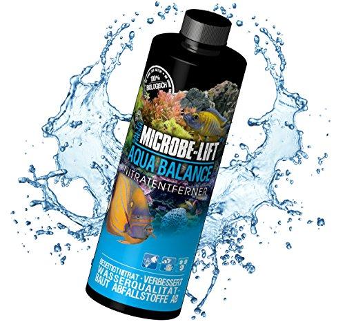MICROBE-LIFT Aqua Balance - Reduziert die Anzahl der Wasserwechsel für Meerwasser und Süßwasser Aquarien, 473 ml