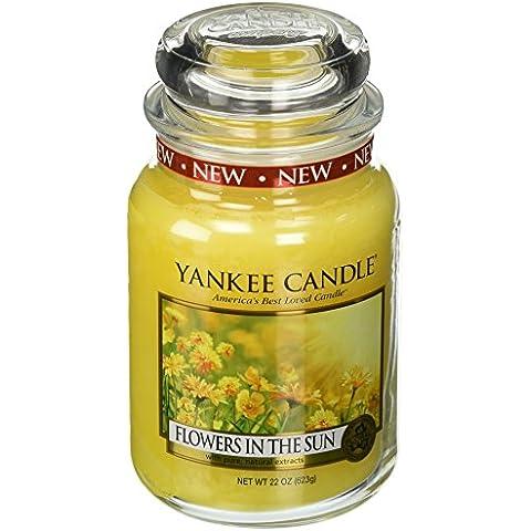 Yankee Candle Company flores en el sol grande tarro vela