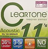 Cleartone CL7611 Jeu de Cordes pour Acoustique Vert