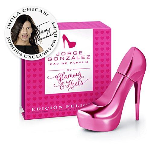 JORGE GONZÁLEZ by Glamour/Heels - EDICIÓN FELICIDAD, Eau de Parfum, Damenduft, EDP, 50ml
