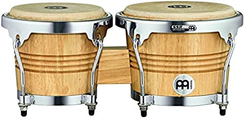 Meinl Percussion WB200NT-CH Chrome Hardware Holz-Bongo Set