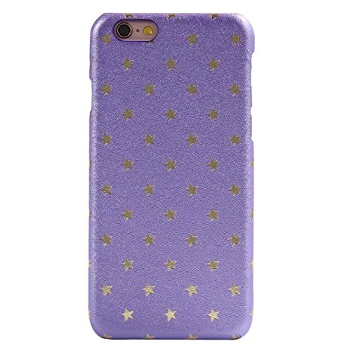 iPhone Case Cover iPhone 6 / 6S Plus-Abdeckungs-Fall, Solid Color-Abdeckung mit Sternen harte Plastikabdeckung für Apple iPhone6 6S ( Color : C , Size : IPHONE 6/6S PLUS ) E