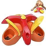 Hochwertige Hunde Intelligenzspielzeug Strategiespiel Hundespielzeug Denkspiel Interaktives Spielzeug Haustier Hund Training Activity Spiel Puzzlespiel Multi-funktionelle Verlangsamung-Essen Dreieck Hundeschüssel