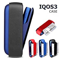 Gooder Portable Case Holder for IQOS3.0 Protective Carry Case for IQOS 3.0 with Belt for Cigarette Storage (Black)