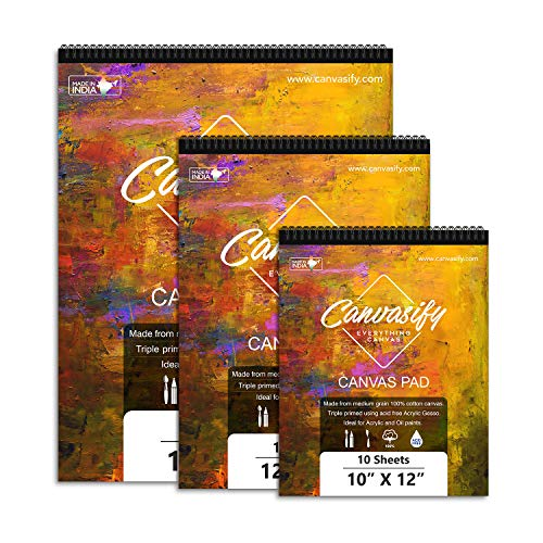 """Canvasify Canvas Pads - All Sizes (12"""" x 16"""")"""