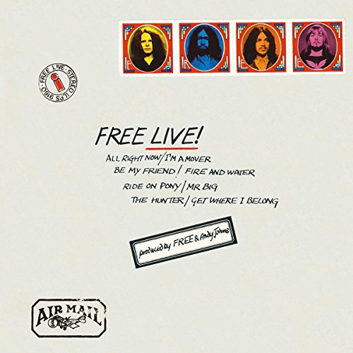 Free Live! (VINYL) - Free - 2017