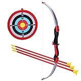 DAN DISCOUNTS Bogen Set Kinder Bogenschießen Schießspiele mit 1 Bogen 3 Pfeile und 1 Ziel für Kinder ab 6 Jahre - Typ 1