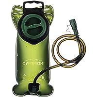 Borsa Idratazione Outdoor Water Bladder Sacchetto dell'Acqua Vescica dell'Acqua Escursione Campeggio ciclismo 2Litri colore VERDE