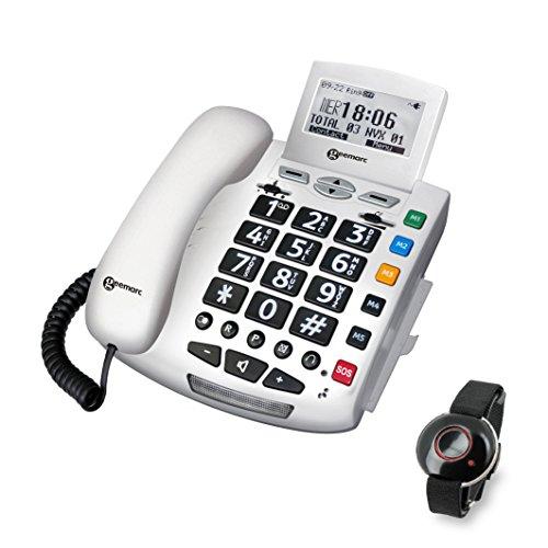 Geemarc SERENITIES Notfallschutztelefon mit Notsender - Deutsche Version