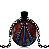 Druida colgante encanto Regalo de fotos de protección amuleto Viking VIKING colgante de celta con joyería Celta joyas Awen símbolo druida amuleto collar