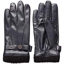 vari stili seleziona per autentico varietà larghe Amazon.it: guanti pelle - Blu