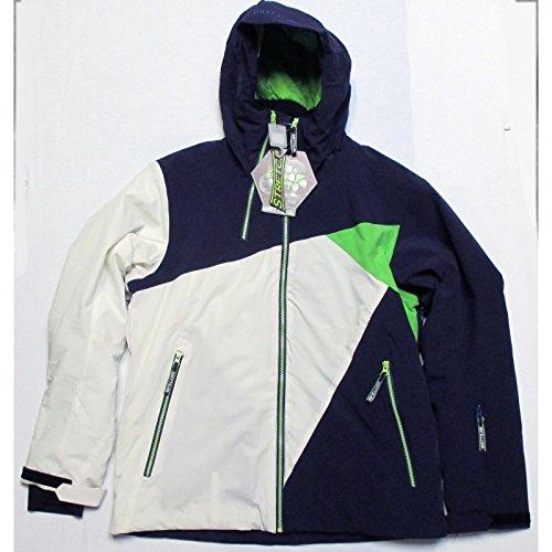 Watts Veste Ski Homme Syken1 Violet/vert/Blanc n°257b