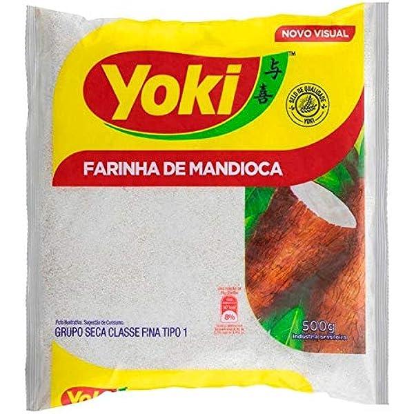 Yoki - Harina de tapioca cruda, 500 g: Amazon.es ...