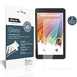 XIDO Tablet X110 Schutzfolie - 2x dipos Glass Panzerfolie 9H Folie Kunststoffglas