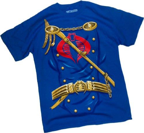 Joe Gi Kostüm Kinder - Hasbro Herren Anzug Kostüm-G.I. Joe T-Shirt, Klein