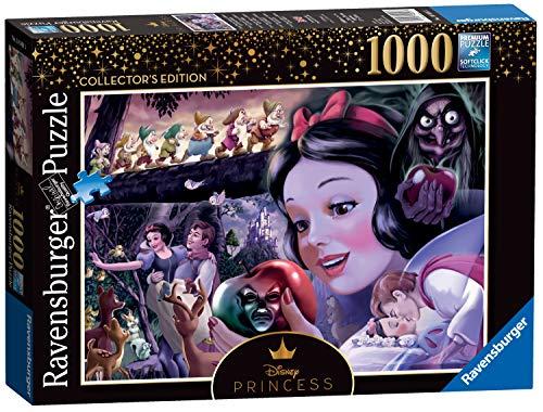 Ravensburger 14849 - Disney Princess Heroines No.1 Schneewittchen, 1000 Teile Puzzle (Schneewittchen Hexe Aus)