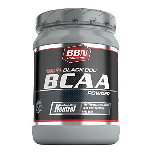BBN Hardcore BCAA Black Bol Powder Dose, Neutral, 1er Pack (1 x 350 g)