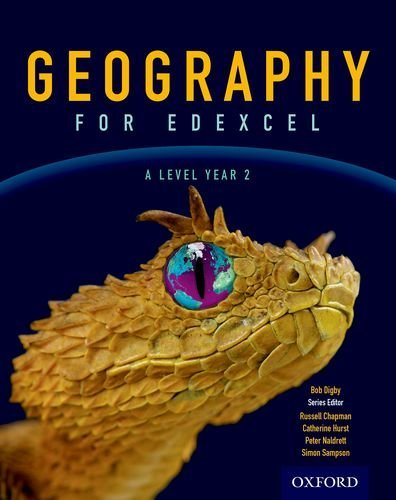Geography for Edexcel A Level Year 2 Student Book by Bob Digby (2017-04-01)