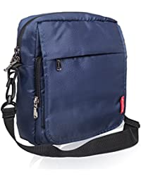 COSMUS Polyester 6 Ltr Navy Blue Messenger Bag