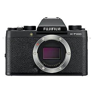 "Fujifilm X-T100 Body Black Mirrorless Digital Camera with 3.0"" TFT LCD"