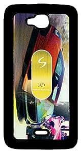 Mobile Back Cover ZT13030 Multicolor 3D Rubberised Soft Mobile Back Case for Micromax Canvas L A108