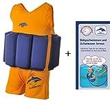 Float Suit, GB-2-3, Gold/Blau, 2-3 Jahre
