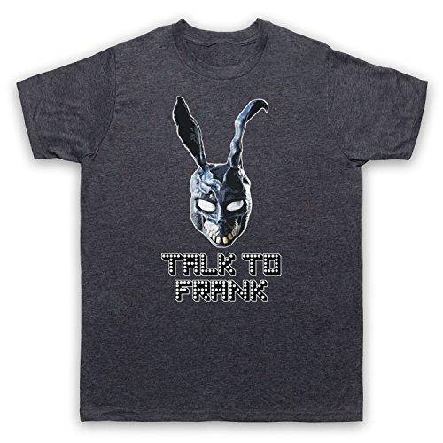 Inspiriert durch Donnie Darko Talk To Frank Unofficial Herren T-Shirt Jahrgang Schiefer