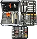 FAMEX 720-89 Mechaniker Werkzeugkoffer mit Top-Werkzeugbestückung