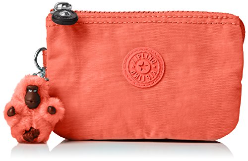 Kipling Damen Creativity S Münzbörse, Orange (Galaxy Orange), 14.5x9.5x0.1 cm (Damen-geldbörse Orange)